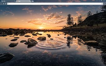 River Pond Google Chrome Theme