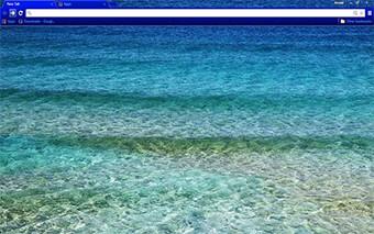 Sea Waves Google Chrome Theme
