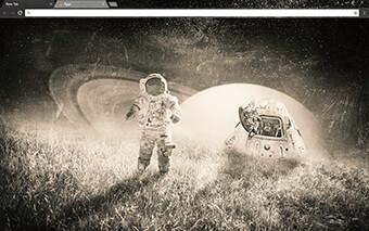 Space Trip Google Chrome Theme