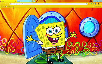 Spongebob Squarepants Google Chrome Theme