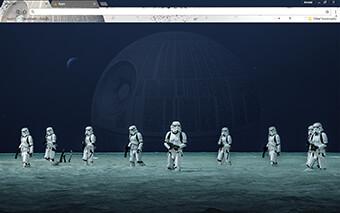 Star Wars Rogue One Google Chrome Theme