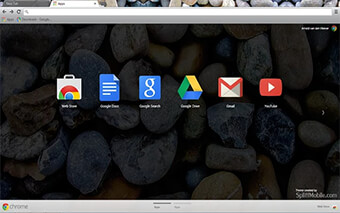 Stone Pebbles Google Chrome Theme