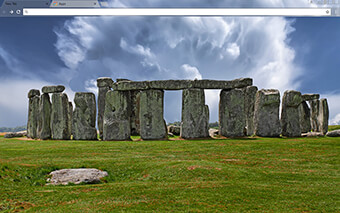Stonehenge Google Chrome Theme