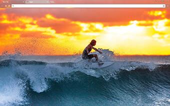 Surfer Google Chrome Theme