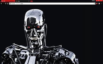 Terminator Google Chrome Theme