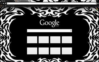 Tribal Google Chrome Theme