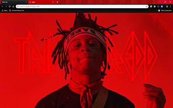 Trippie Redd Google Chrome Theme
