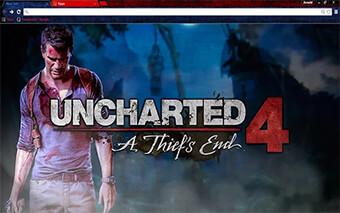 Uncharted 4 Thiefs End Google Chrome Theme