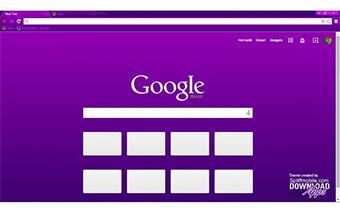 Vivacious Purple Google Chrome Theme