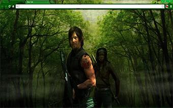 Walking Dead Dm Google Chrome Theme