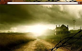 Walking Dead Farmhouse Google Chrome Theme