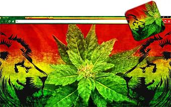 Weed Lions Google Chrome Theme