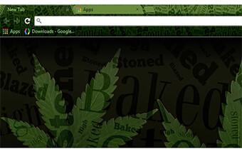 Weed Stoner Google Chrome Theme