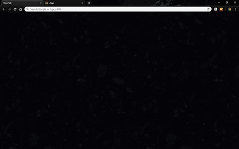 Custom Google Chrome Themes (New - Dark