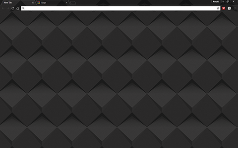 Dark Shader Google Chrome Theme