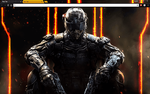 Call of Duty Black Ops 3 Google Chrome Theme