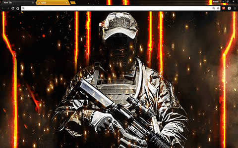 Call Of Honor Google Chrome Theme