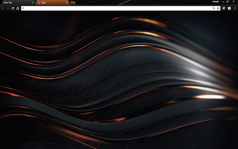 Chromatic Copper Google Chrome Theme