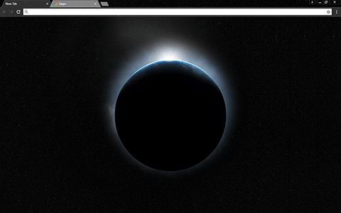 Earth 4K Google Chrome Theme