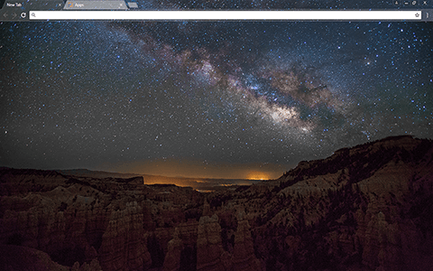 Fairyland Canyon Google Chrome Theme