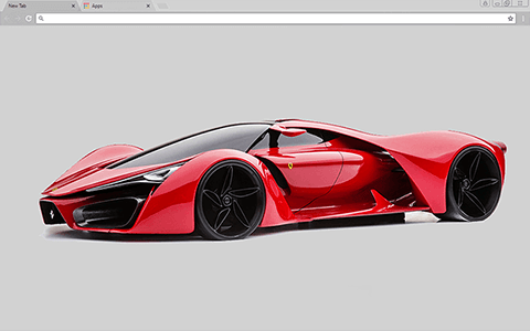 Ferrari Enzo Google Chrome Theme