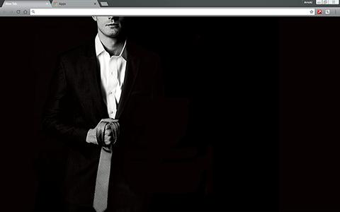 Free Fifty Shades of Grey Google Chrome Theme