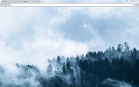 Foggy Google Chrome Theme