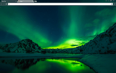 Iceland Google Chrome Theme
