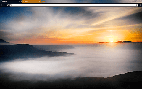 Japanese Sunrise Google Chrome Theme