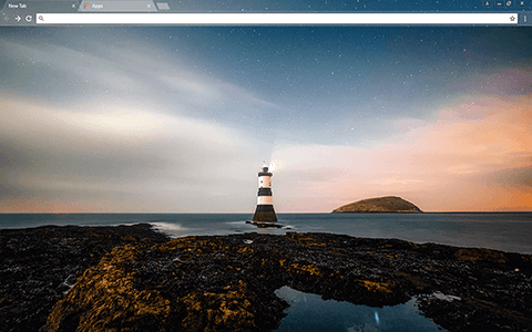 Lighthouse Google Chrome Theme