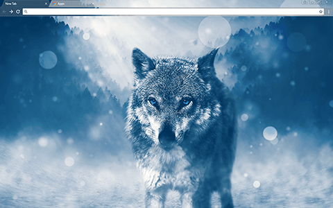 Lone Wolf Google Chrome Theme