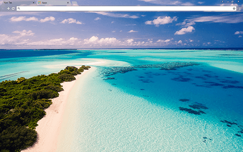 Maldives Google Chrome Theme