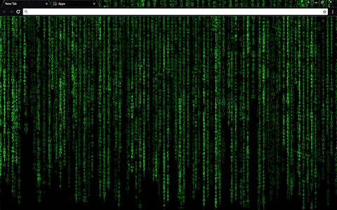 Matrix Decoded Google Chrome Theme