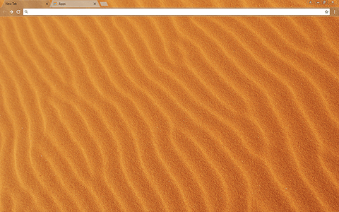 Sandy Google Chrome Theme