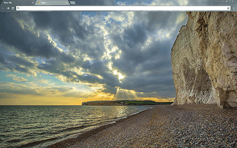 Seven Sisters Google Chrome Theme