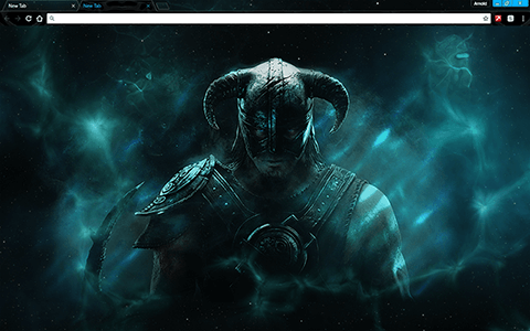 Skyrim Google Chrome Theme