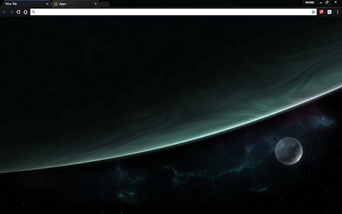 Space Orbit Google Chrome Theme