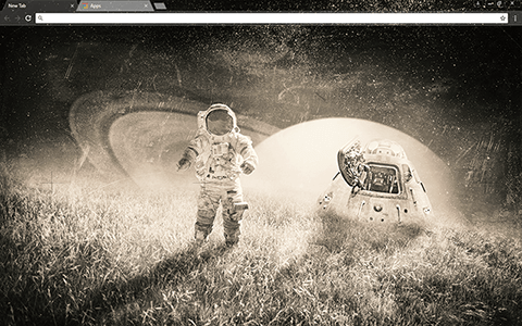 Space Trip Google Chrome Theme
