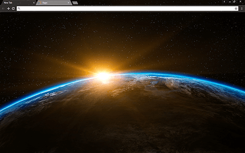 Sunrise Google Chrome Theme