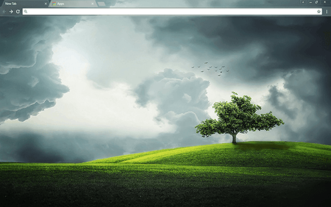 That Tree Google Chrome Theme