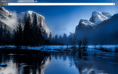 Yellowstone Google Chrome Theme
