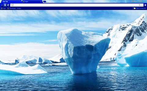 Arctic Google Chrome Theme