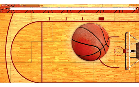 Basketball Google Chrome Theme