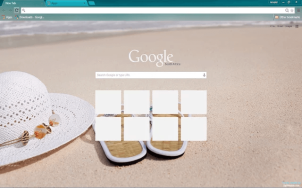 Beach Google Chrome Theme