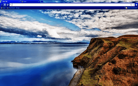 Beautiful Landscape Google Chrome Theme
