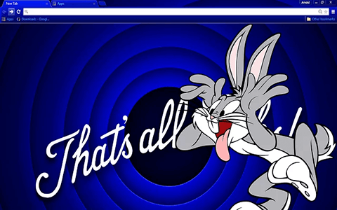 Bugs Bunny HD Google Chrome Theme