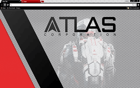Call of Duty Advanced Warfare ATLAS Google Chrome Theme
