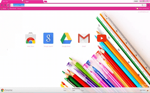 Free Color Google Chrome Theme