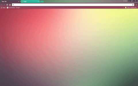 Color Fusion Google Chrome Theme
