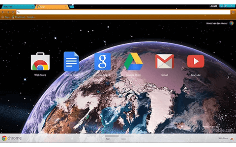 Free Earth HD Google Chrome Theme